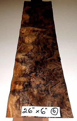 Real Wood Veneer Walnut Burr For Guitars, Dashboards,furniture,marquetry,boxes