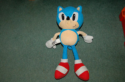 "New Official 14"" Sega Sonic Soft Toy Plush Sonic The Hedgehog Soft Toy"