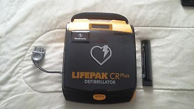 Medtronic Lifepak Cr Plus Aed With Battery And Pad