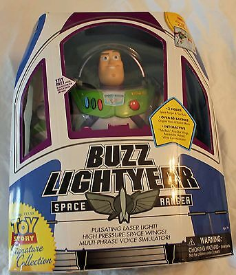 """Toy Story Signature Collection 12"""" Talking Collector Buzz Lightyear!"""