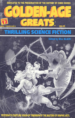 Golden Age Greats Volume 12 Nm! ~ Science Fiction