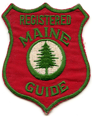 Maine Registered Guide Patch