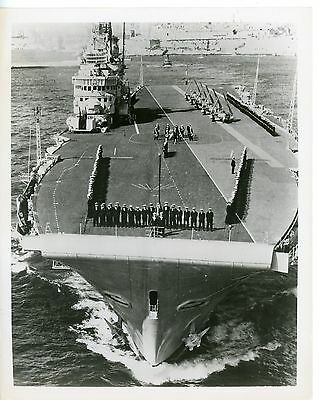 Royal Navy, Original Photo, HMS Centaur, R06, 1955, Aircraft Carrier