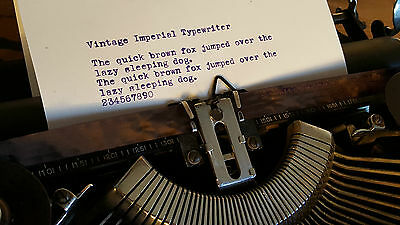 Vintage Imperial Good Companion Typewriter, Excellent Working Condition, 1930s