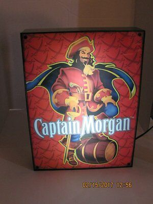 "One Captain Morgan Lighted Sign  13.5"" X 18.5"""