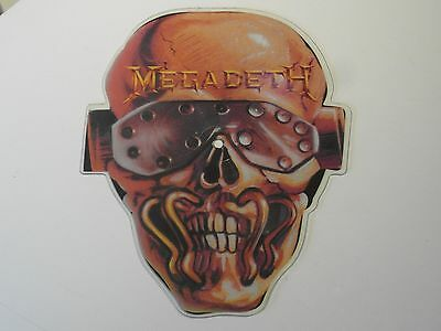 Megadeth wake up dead shaped picture disc single VIC