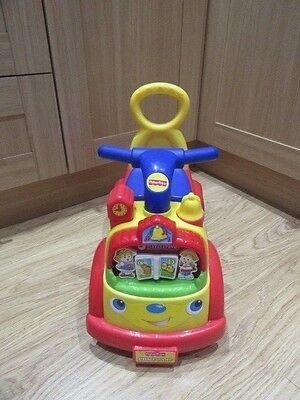 Fisher Price Musical Ride On Car