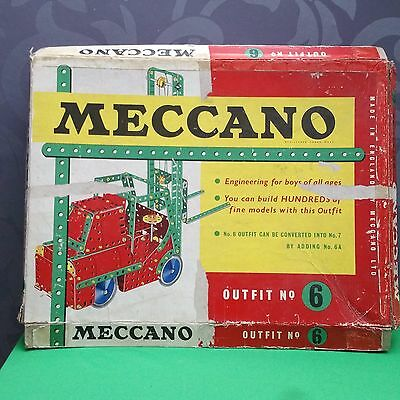 Meccano  outfit #6, Box only.