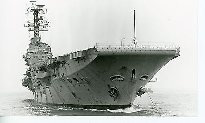Royal Navy, Original Photo, HMS Bulwark, R08, 1980, Aircraft Carrier