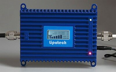 UMTS 2100 3G Mobile Cell phone Booster 70dB Gain signal amplifier