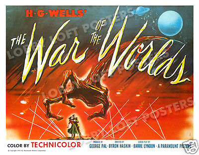 The War Of The Worlds Lobby Card Poster 1953 Hs-A Ann Robinson Gene Berry