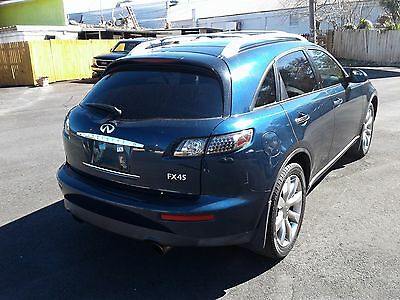 2005 Infiniti FX Base Sport Utility 4-Door 2005 INFINITY QX45 FULLY LOADED SUPER CLEAN