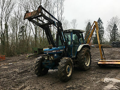 Ford 5610 Tractor With Quicke Loader