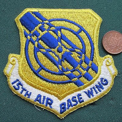 Us Airforce Patch (15 Abw)
