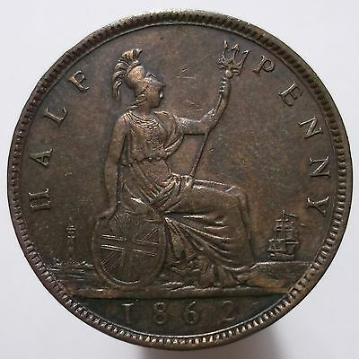 1/2 Penny 1862 (Great Britain)