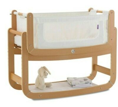 Snuzpod 2: 3-in-1 Bedside Crib + 2 mattress + 2 fitted sheets