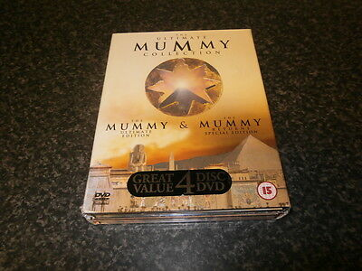 The Ultimate Mummy Collection Dvd Box Set