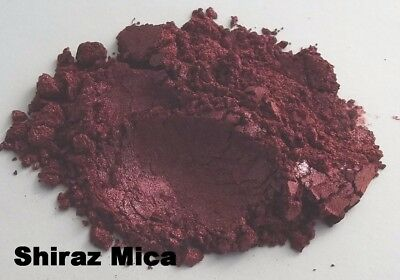 Shiraz Mica Bordeaux Natural Cosmetic Grade for Home Makeup Soap Skincare Craft