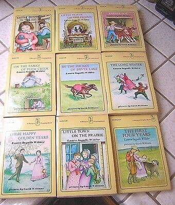 Lot of Vintage Little House on the Prairie Books ~ Paperback ~ 1970's