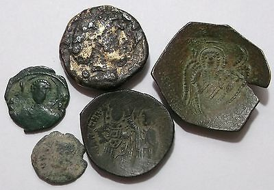 Lot of 5 Ancient Coins