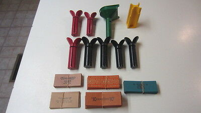 Vintage Lo of Coin Tubes & Paper Coin Wrappers