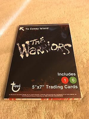 The Warriors Rare Topps 16 Card Set Never Been Opened