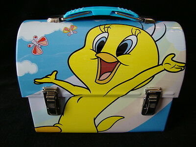 Tweety Bird Tin Dome Topped Lunch Box, Small