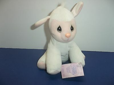 "Precious Moments Tender Tails Sheep 7"" Plush Lamb With Tags"