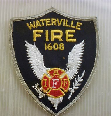 USA Fire Service patch Waterville Fire 1608