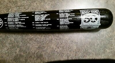 1989 Hall Of Fame Induction Bat 50 Year Commemorative Bat Ruth Mantle Aaron