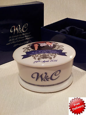 Prince Williams & Catherine Middleton Wedding Commemorative  Box Limited Edition