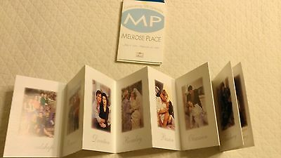 Melrose Place promotional postcards- 100th episode - collectible