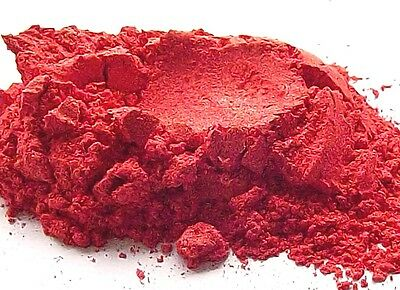 Strawberry Mica Powder Natural Cosmetic Grade Home Makeup Soap Skincare Craft
