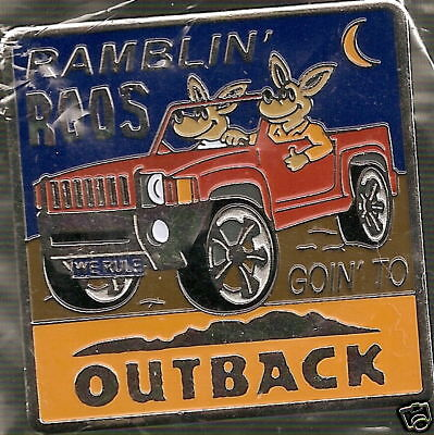 J3898 Outback Steakhouse Ramblin Roos