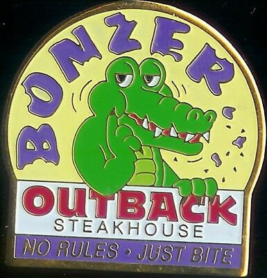 J2073 Outback Steakhouse Bonzer No Rules Just Bite