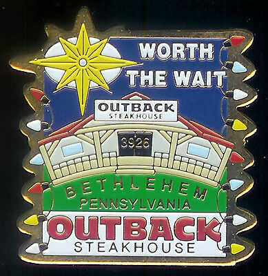 J1991 Outback Steakhouse Bethlehem Pennsylvania