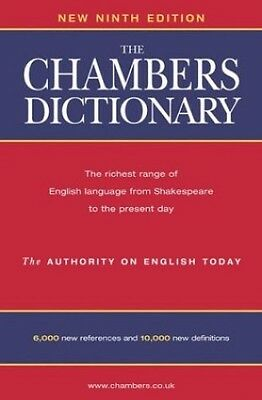 The Chambers Dictionary: Thumb Index Hardback Book The Cheap Fast Free Post