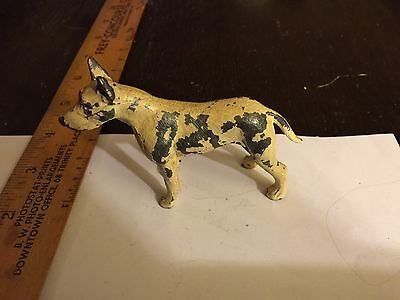 Cast Metal Painted Vintage Shepherd Dog