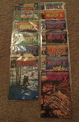 Marvel Comics Presents Before Wolverine Weapon X 72-84 13 Book Lot Set