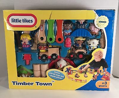 Little Tikes Timber Town Wood Play Set - Brand New!