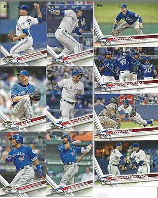 Toronto Blue JAYS 2017 Topps Series 1 Team Set of 15 Cards - Ready to Ship!