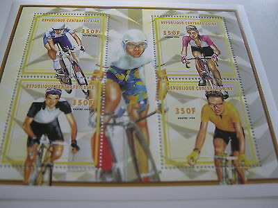 Central Africa-1998-sport-bicycle-MI.2047-50