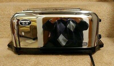 Waring Commercial Wct704 4-Slice Light Duty Toaster Used