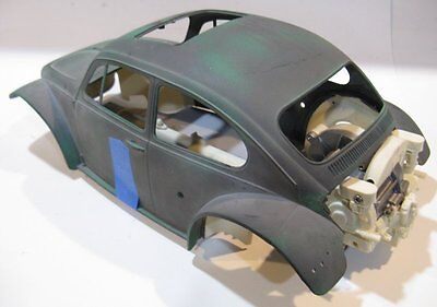 Tamiya Sand Scorcher Project VW engine aluminum chassis body Scale builder