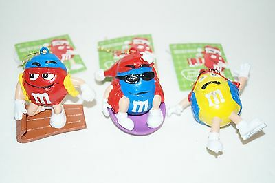 Lot of 3 M&M'S Ornaments