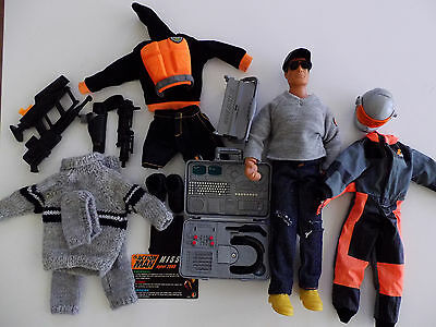 Action Man + accessories and 6 GI Joe Figures - see listing for details