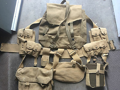 Australian commonwealth PAT 08 webbing set
