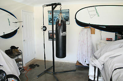 Boxing Bag Stand With Speed Ball and Boxing Bag