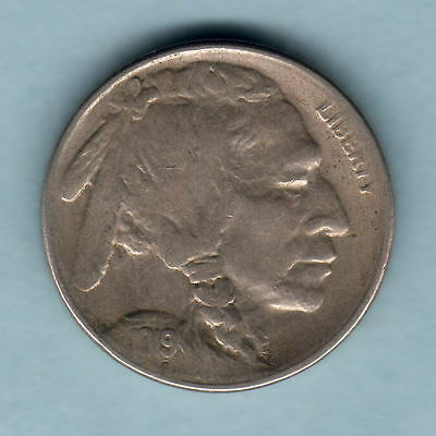 U.S.A. 1919-S 5 Cents..    VF