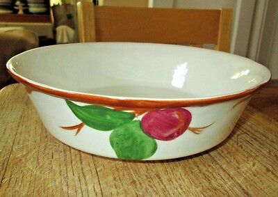 """Franciscan Apple 8 5/8"""" Vegetable Serving Bowl Made In England MINT Condition"""
